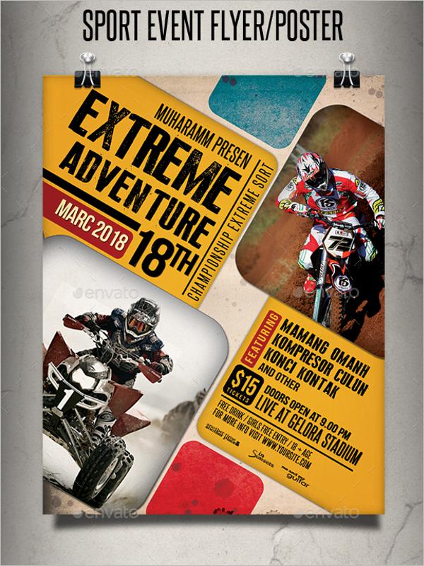 Sports Event Poster Design