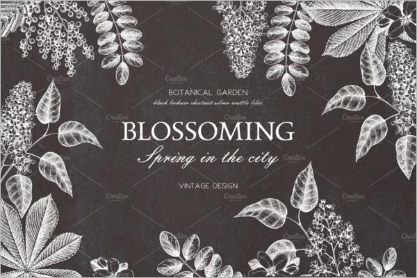 Spring Mimosa Pattern