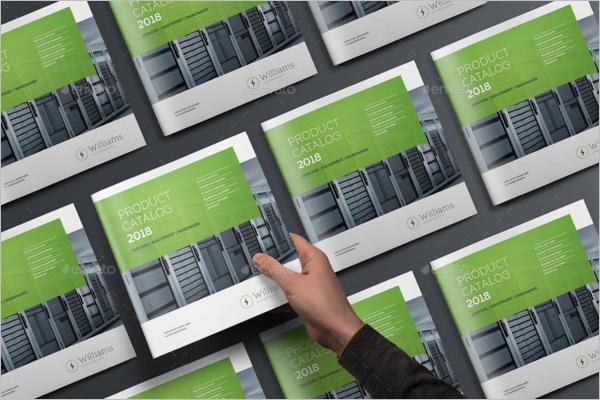 Square Brochure Mock-up 2018