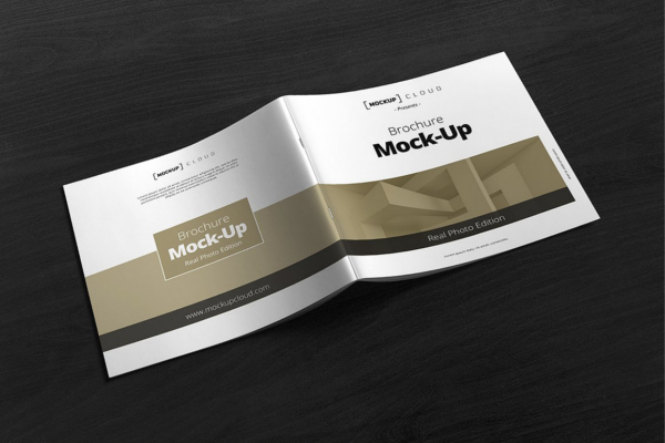 20 Free Catalog Brochure Mockup Templates In Psd Free Tri Fold