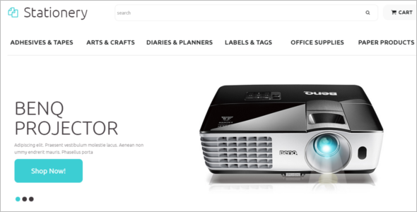 Stationary Supplies WooCommerce Theme