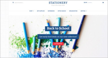 Stationery WooCommerce Templates
