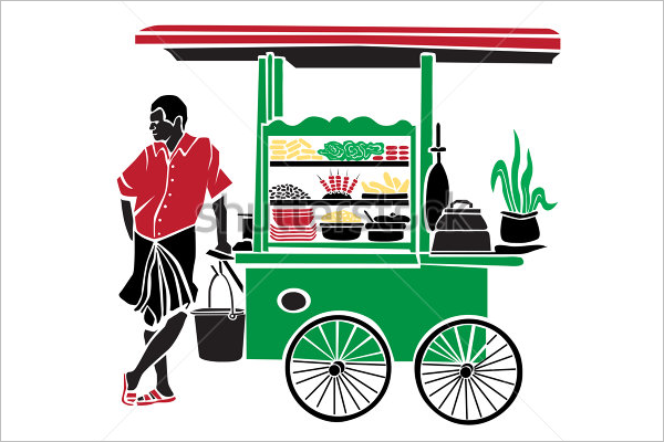 Street Food Flyer Template
