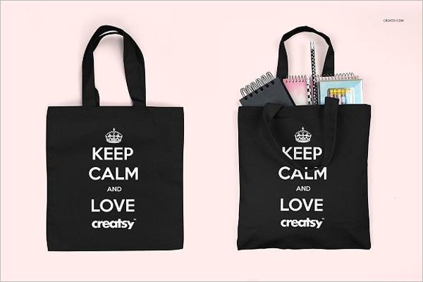 Student Bag Mockup Design