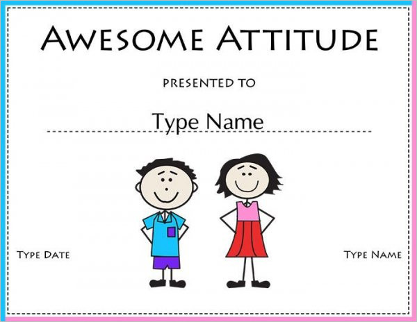 Student Council Certificate Template