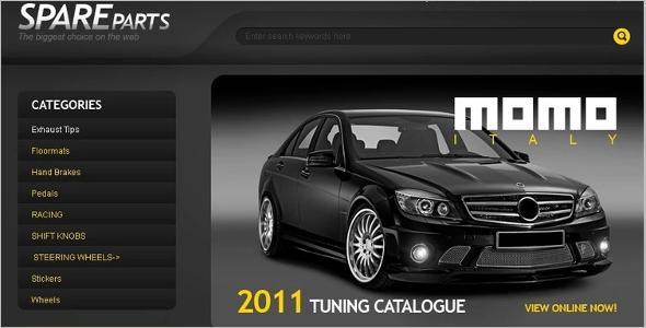 Stunning Auto Parts ZenCart Themes