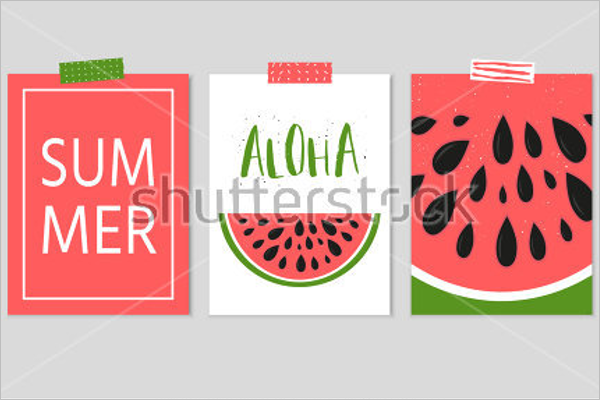 Summer Creative Poster Design