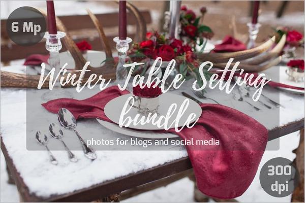 Table Setting Bundle