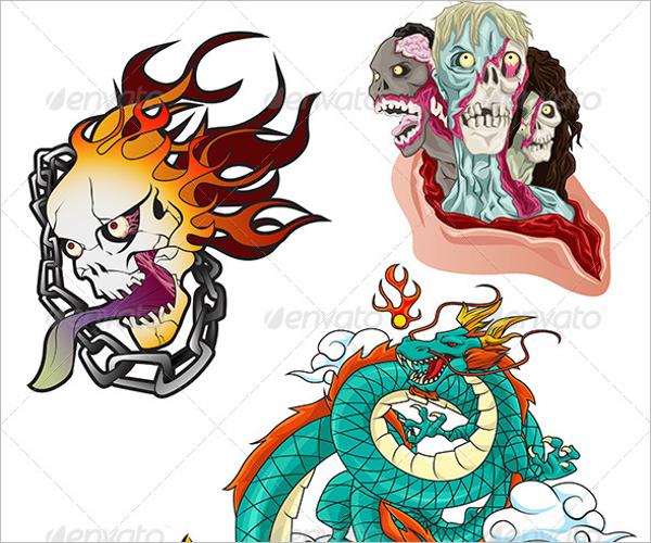 Tattoo Clipart Design