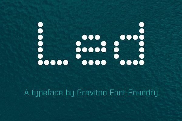 Technical Futuristic Decorative Font