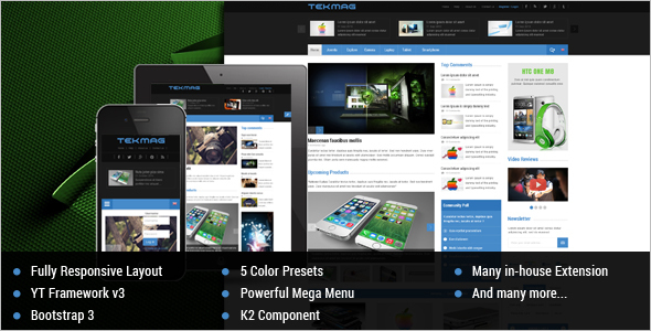 Technology News Joomla Template