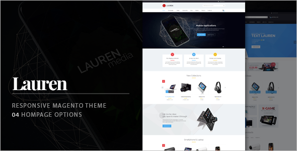 Technology Responsive Magento Theme