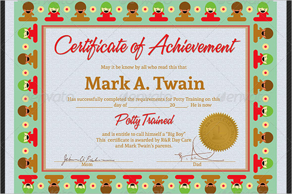 Trained Certificate For Kids