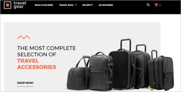 Travel Bag Magento Theme
