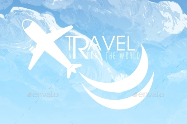 Travel Greeting Card Design