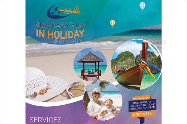Travel Tourism Flyer