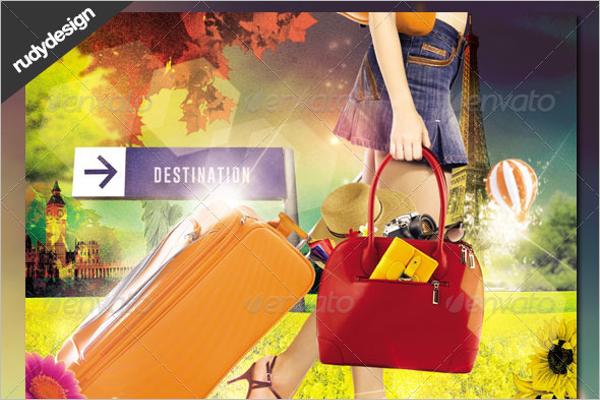 Travel & Vacation Flyer Design