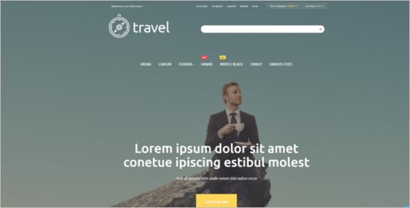 Travelers' Paradise Magento Theme