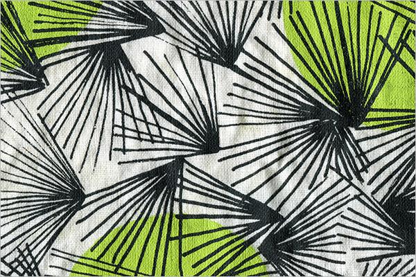 Trendy Mimosa Pattern