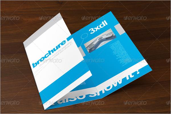 Tri-Fold A4 Format brochure Template