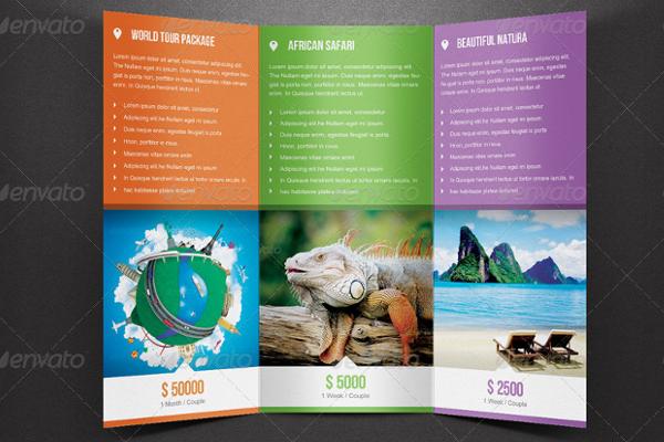 Trifold Brochure Mockup Template