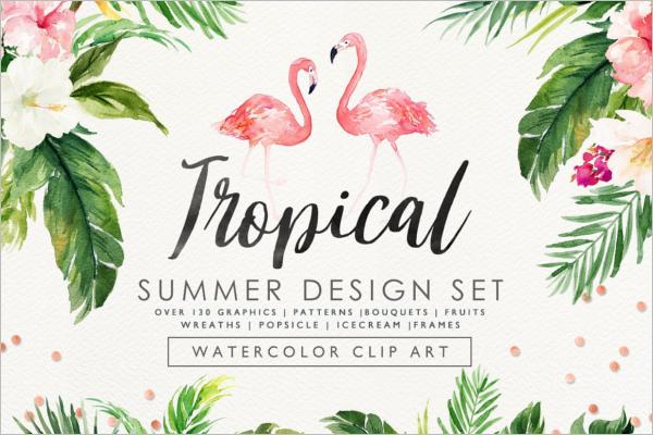 Tropical Design Pattern Set