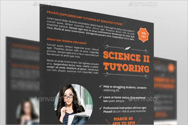 Tutor Flyer Template Gallery Template Design Free Download