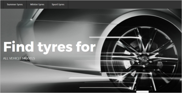 Tyres Store OpenCart Theme