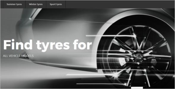 Tyres Store OpenCart Theme
