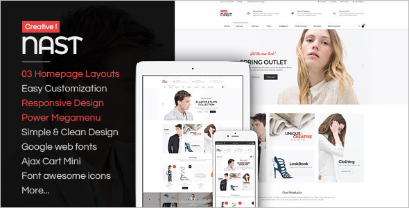 Unique Responsive OpenCart Theme