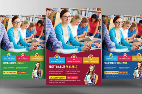 University Design Flyer Template