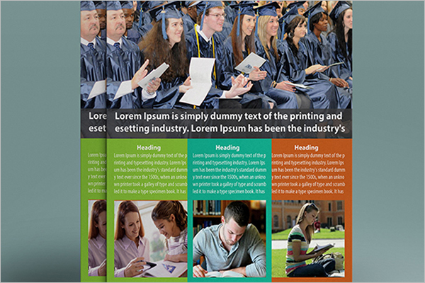 University Education Flyer Design