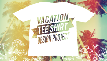 Vacation T-Shirt Design