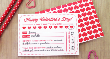 Valentine's Day Certificate Templates