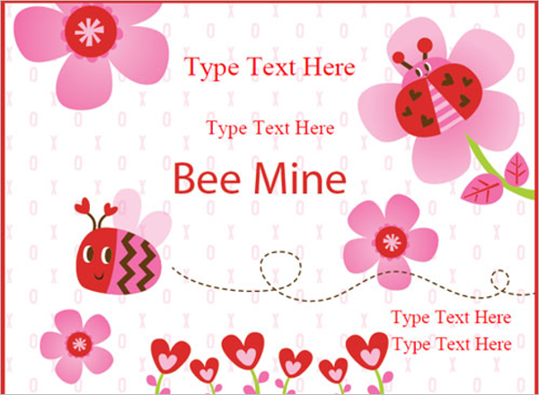 Valentines Day Certificate Template Model
