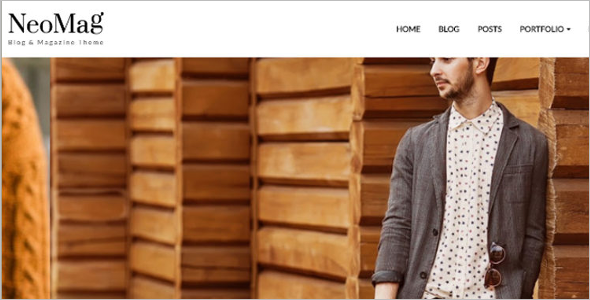 Vector Free Blog Template