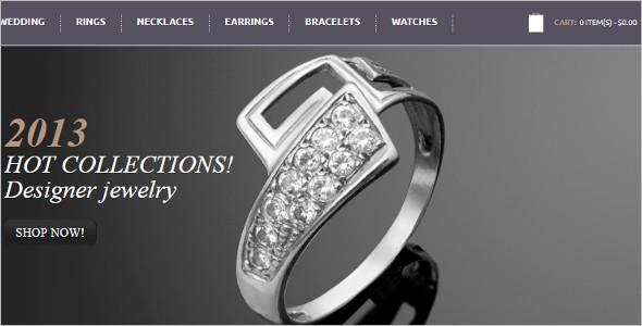 Vector Jewelry OpenCart Template