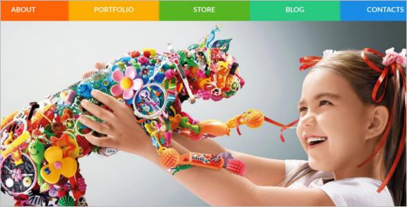 Vector Kids WooCommerce Theme