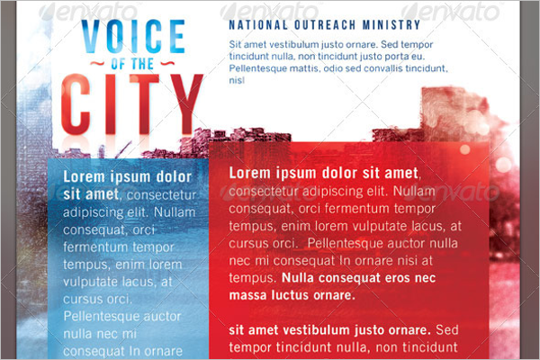 Voice of The City Church Business Card