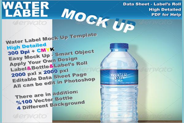 Waterbottle Packaging Design
