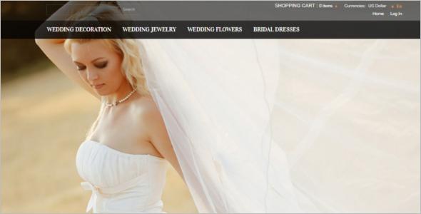 Wedding Dresses Zen Cart Template