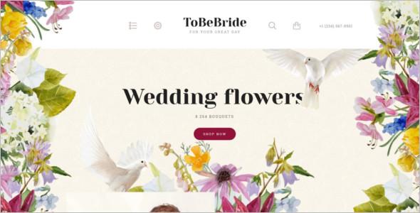 Wedding Flowers Opencart Theme