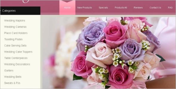 Wedding Planing Services Zen Cart Template