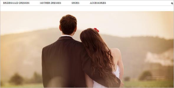 Wedding Planning Zen Cart Template