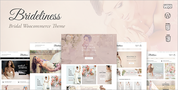 Wedding Shop WooCommerce Theme