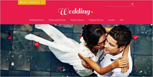 Wedding Store OpenCart Theme