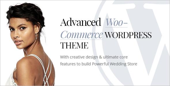 Wedding Woocommerce WordPress Theme