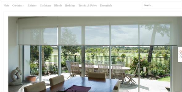 Window Decor OpenCart Template