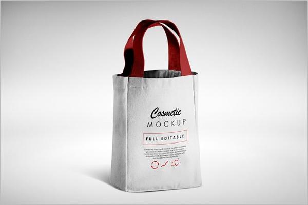 Wine Bottle Bag Mock-up