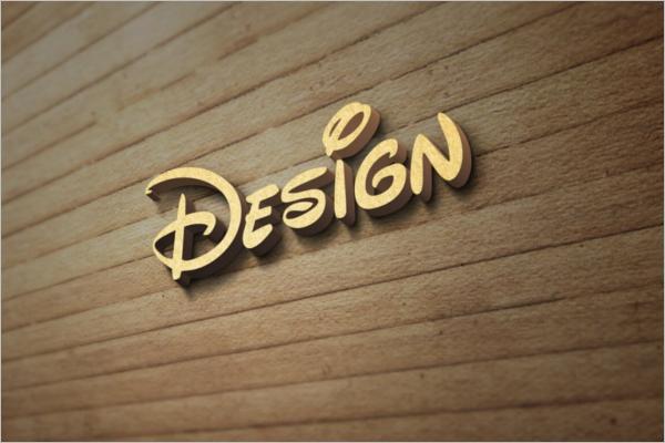 Wood Design Wall Logo